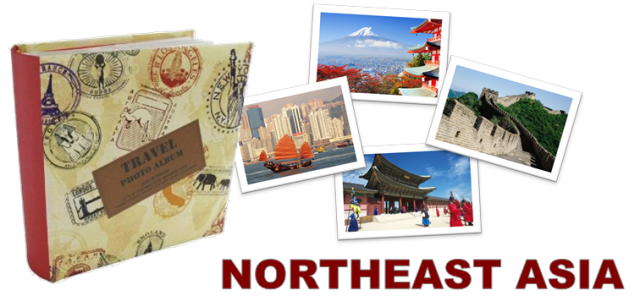 Travel Photos From Backpacking Journeys Through Northeast Asia