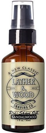 Lather & Wood Shaving Oil